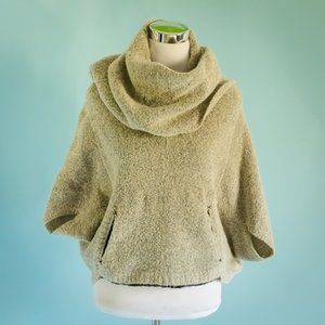 Anthro Sparrow Small Hallowell Poncho Sweater